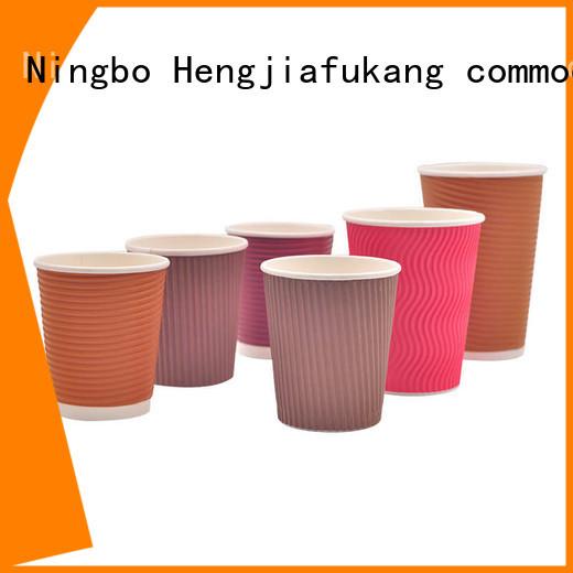 Hengjiafukang 8oz ripple cups Supply food