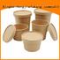 New black paper bowls Supply food