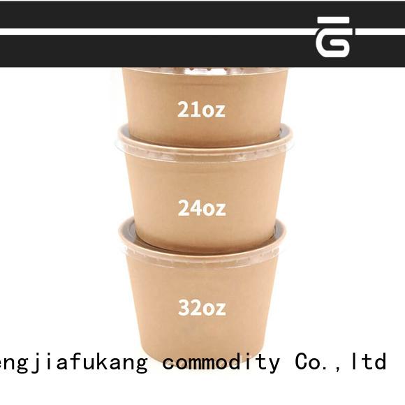 Hengjiafukang disposable salad bowl company food