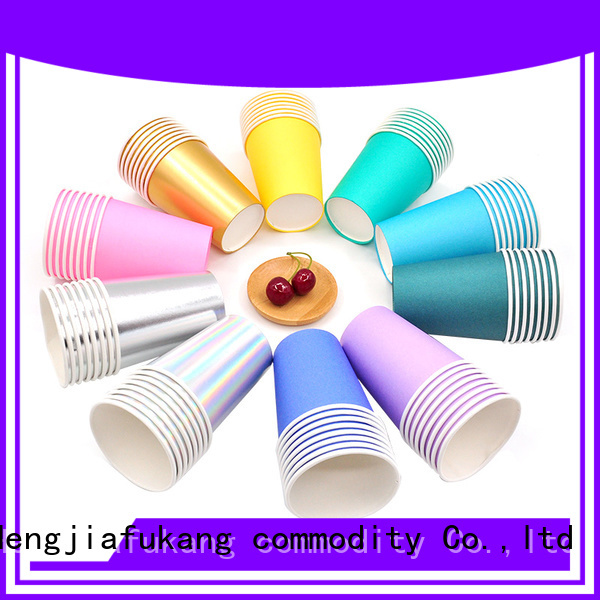 New plain paper cups factory food packaging