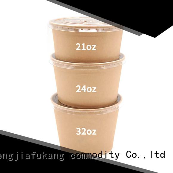 Hengjiafukang Wholesale biodegradable salad bowls Supply soup