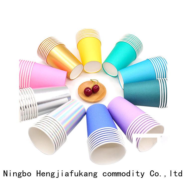 Hengjiafukang white paper cups Suppliers food packaging