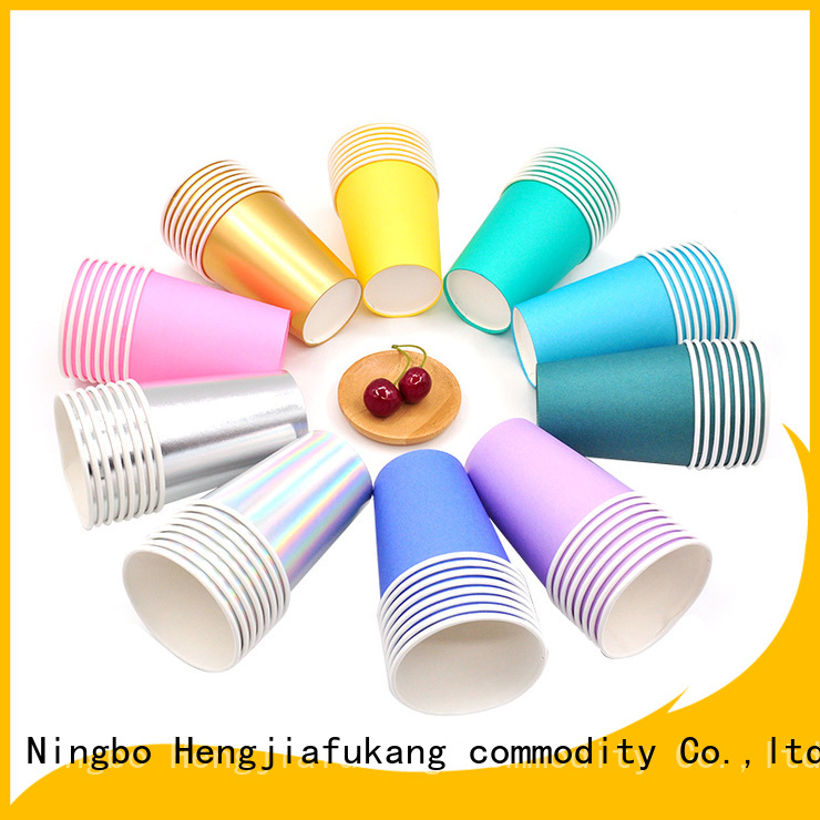 Hengjiafukang High-quality dixie cup with handle Supply disposable
