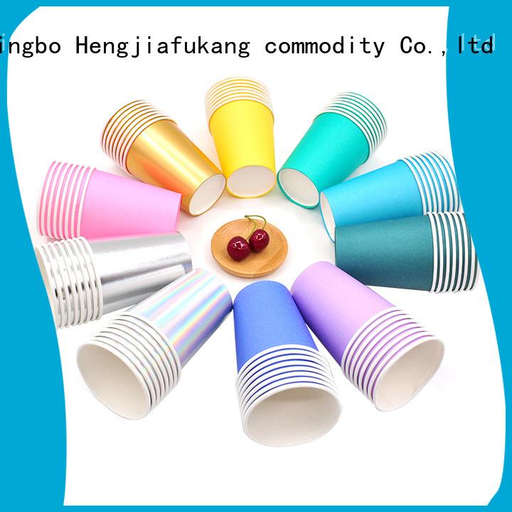 Hengjiafukang double wall cup manufacturers food packaging