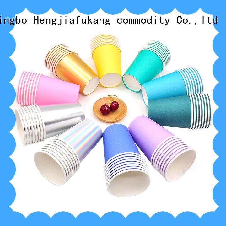 Hengjiafukang food grade paper cups company food packaging