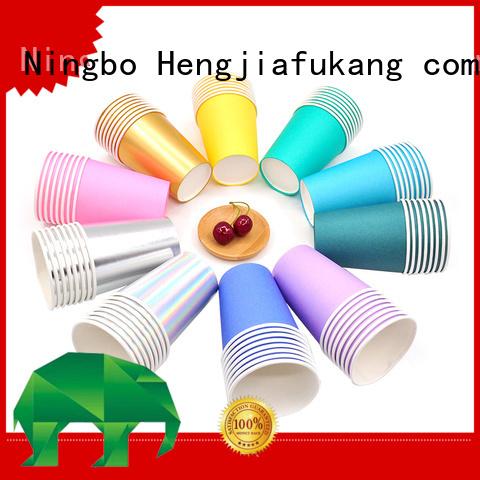 Hengjiafukang Custom strong paper cups for business food packaging