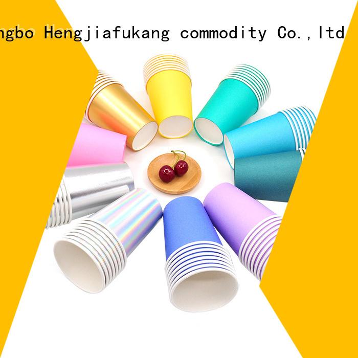 Hengjiafukang disposable cardboard cups manufacturers food packaging